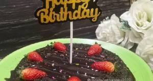 Kek Coklat Oreo (3 Bahan)