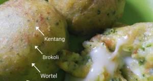 Potato Ball w/ Mozza Cheese by Ibu Yasmin