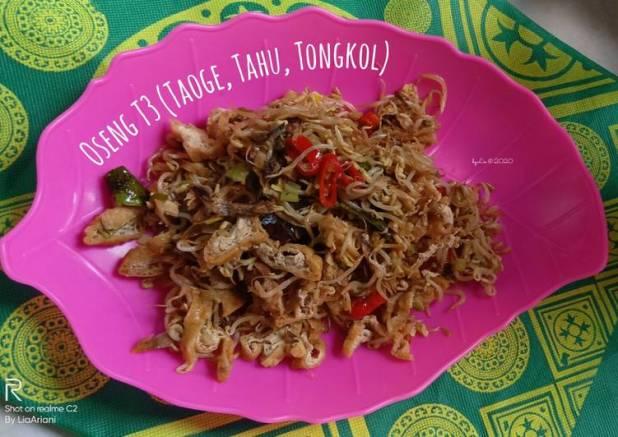 Oseng T3 (Taoge, Tahu, Tongkol)