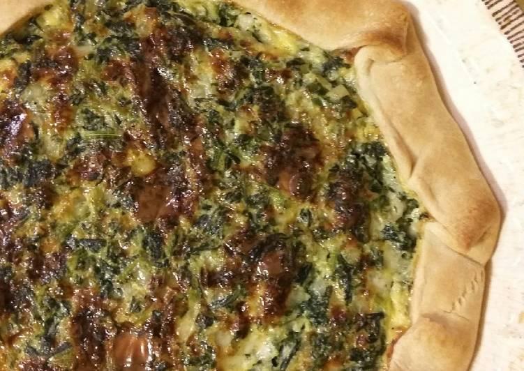 Cottage Spinach Pie