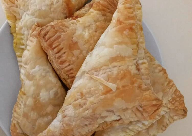 Cheese and Spinach Pastry *Vegetarian