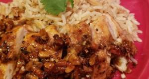 Honey Pecan Chicken Breast W/rice Pilaf (RSC Recipe)