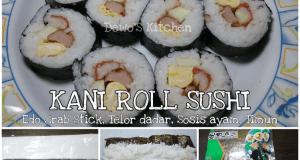 Kani Roll Sushi Kani  Crab