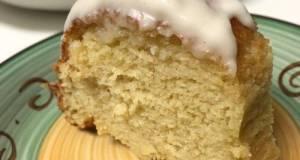 Cream Cheese Pound Cake w/Lemon Glaze