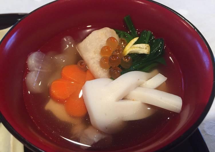 お雑煮 Ozoni, New Year's special soup