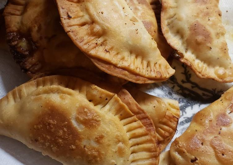 , Easiest Way to Cook Perfect Chicken Fajita empanadas