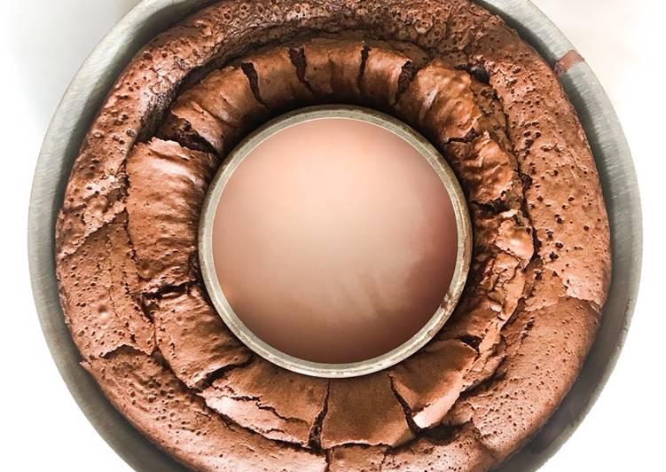Gâteau au chocolat délicieux