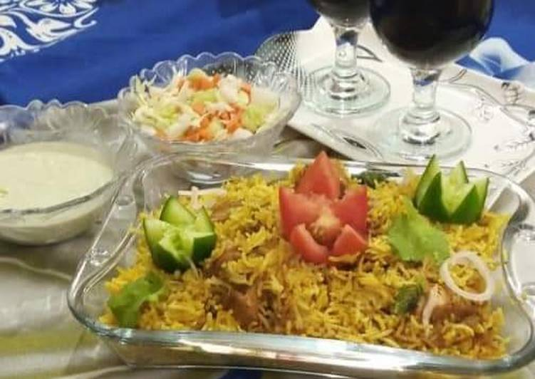 Chicken biryani 🍽