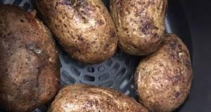 Air Fryer Baked Potato Baked Garlic Parsley Potatoes