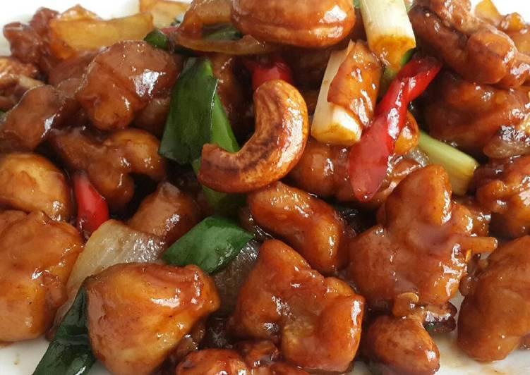 Ayam Kungpao (Kungpao Chicken) Siapa pun bisa