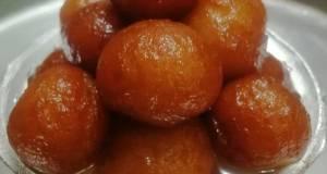Khoya gulab jamun