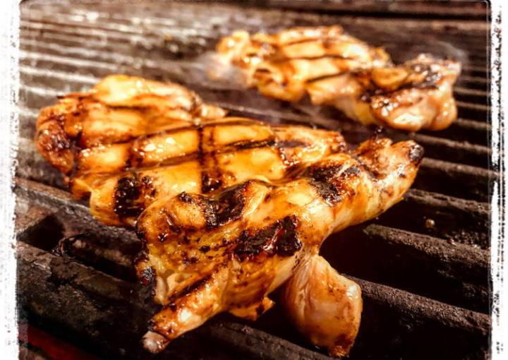 BBQ Hoisin Red Curry Grilled Chicken