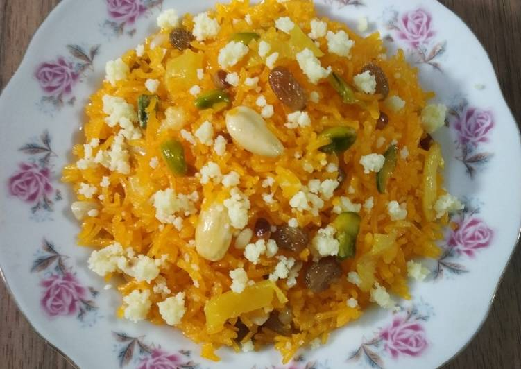 Pineapple Muzaffar Pineapple Zarda