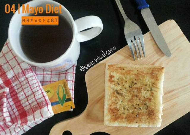 Mayo day 4 - breakfast | roti oregano