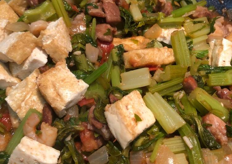 , Recipe: Delicious Chinese celery w/ Tofu