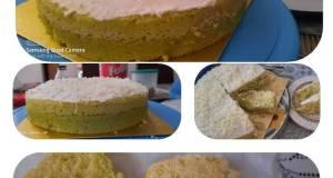 Cake pandan lapis kukus