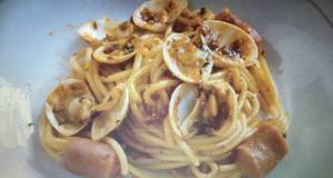 Spaghetti Sosis Kepah