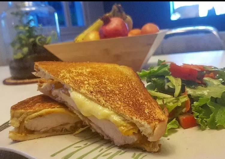 13• Croque Monsieur façon Grilled Cheese de KFC