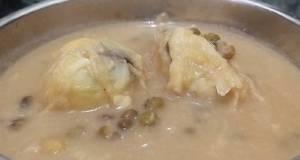 Bubur Kacang Hijau +durian