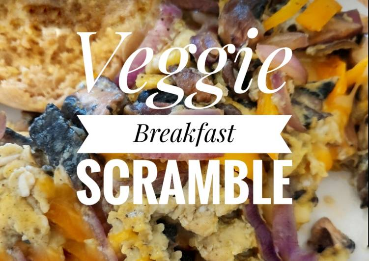 Veggie Breakfast Scramble 🍳