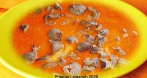 Balado Hati Ampela Ayam Kampung