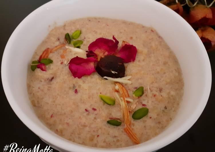 Brown Rice-Dates Kheer