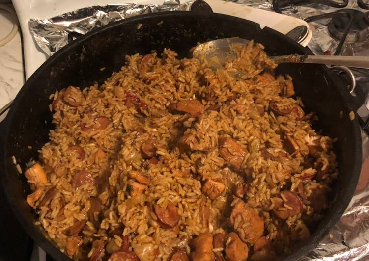 Cajun jambalaya sausage /chicken