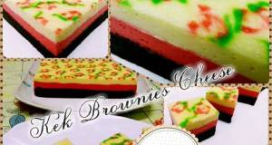 Kek Brownies Cheese