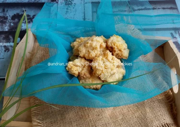 Crunchy Cheese Cornflake Cookies