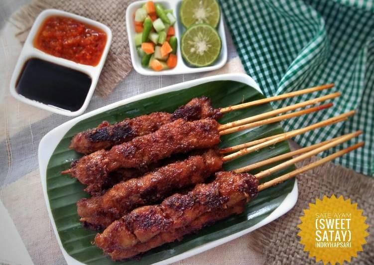 Sate Ayam (Sweet Satay) #postingrame2_sate