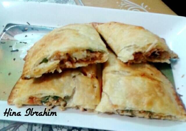 Chicken Tandoori Calzone