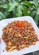 Resep Nasi Goreng Beras Merah - Masak Apa Hari Ini?