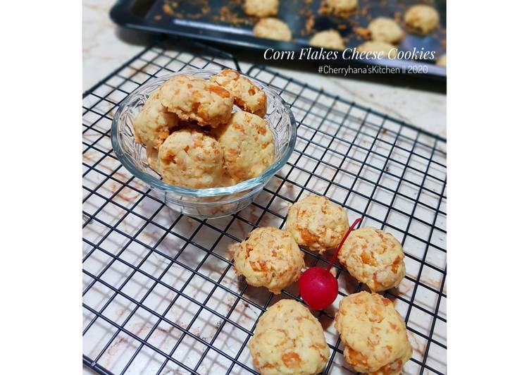 Corn Flakes Cheese Cookies