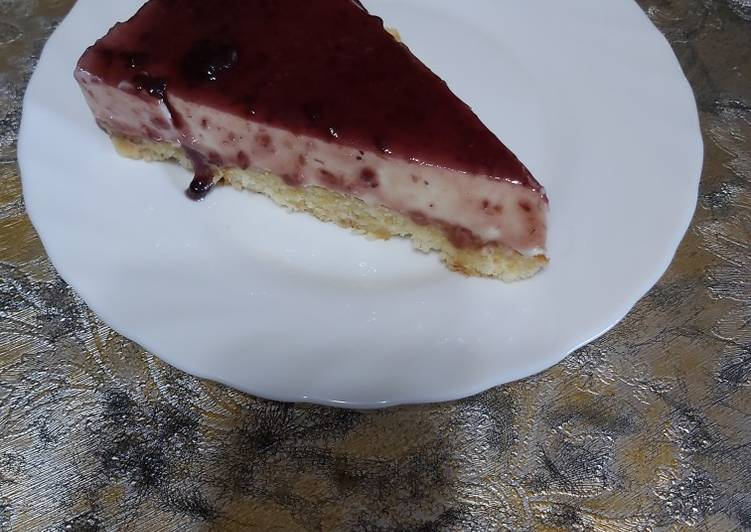 Philadelphia cheesecake (no bake)