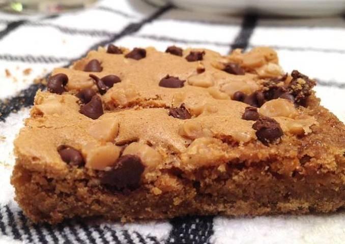 Blond brownie