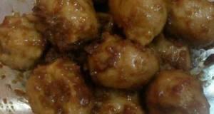 Bakso Tumis Bumbu Kacang Praktis