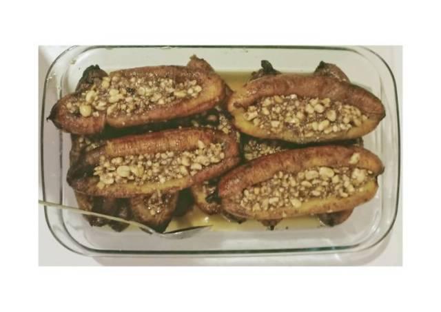 Sanggara balanda / fried banana with peanut butter (khas bugis)