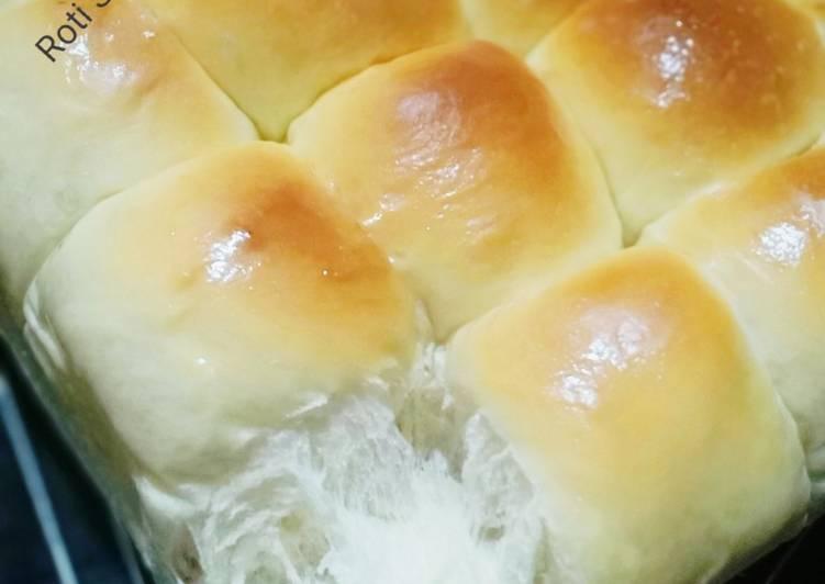 Roti Sobek Lembut Metode Autholysis 1 kali proofing