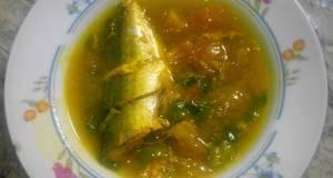 Ikan Kembung Banjar Kuah Kuning