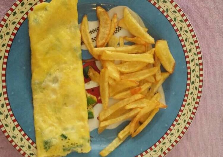 My easy morning omlet
