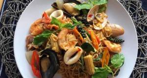 🧑🏽🍳🧑🏼🍳 How To Make Thai Drunken Noodles At Home • Pad Kee Mao Recipe |ThaiChef Food