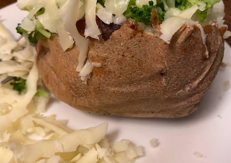 Date night bake potatoes