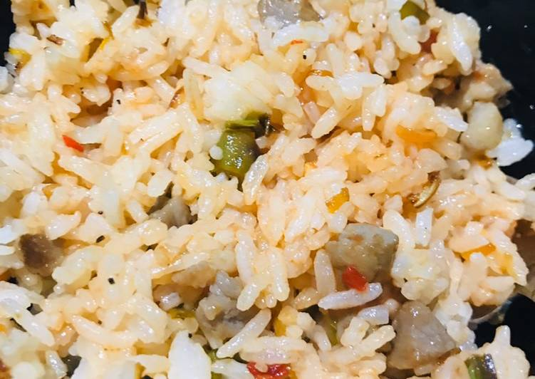 Omrice or fried rice