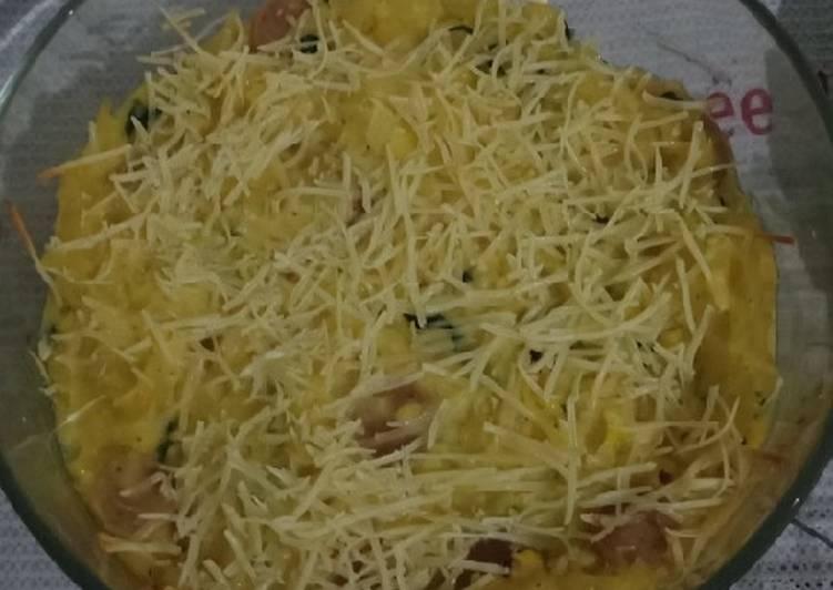 Macaroni schotel panggang