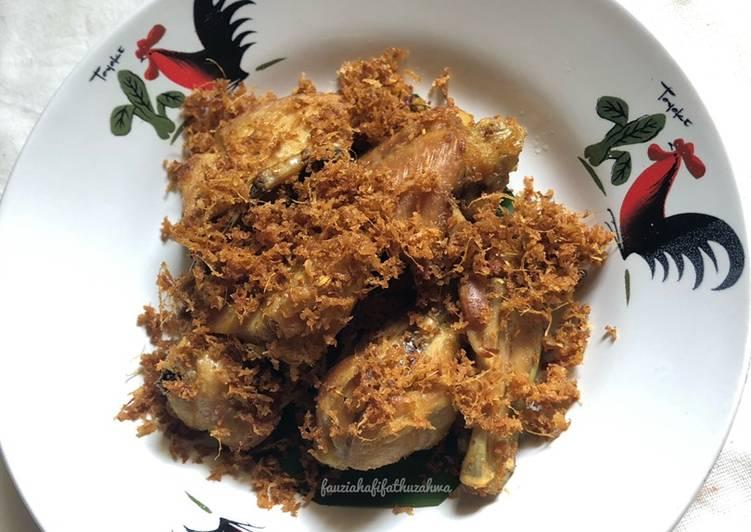 75. Ayam Bumbu Padang ~ Ayam Goreng Lengkuas