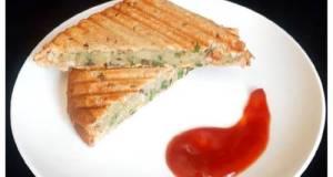 Grilled Potato Sandwich