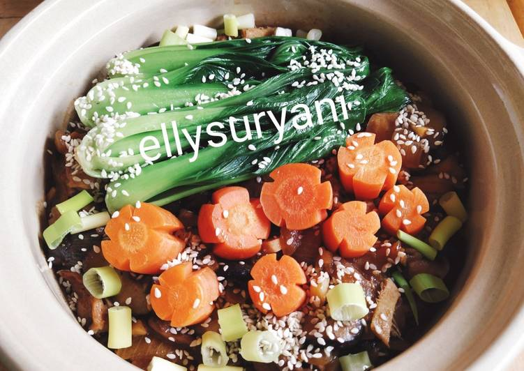 Chicken Rice Claypot