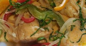 Dominican Coconut Fish