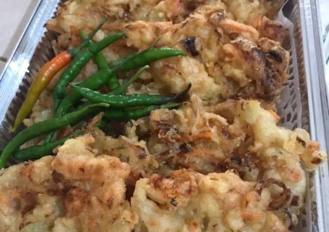 Bakwan sayur crunchy