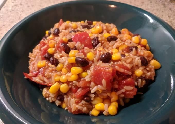 Vegan Pressure Cooker Beans & Rice
